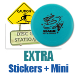 Extra Stickers and a Mini Marker Free!