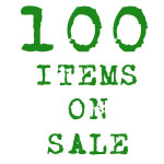 100 Items on Sale