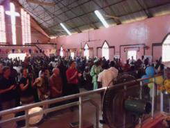 worship - Rokgbane Wesleyan Church, Makeni