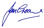 Jan Creamer signature BLUE