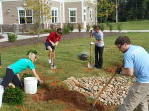 PA Students Landscaping
