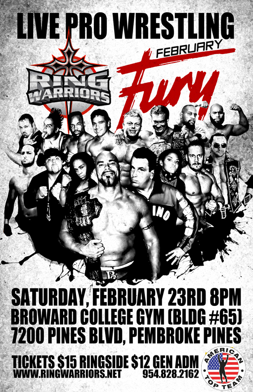 February Fury Live!