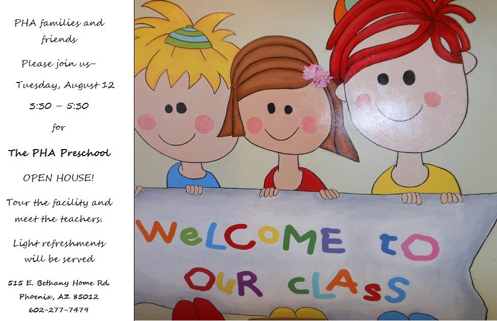 Pha Preschool Open house