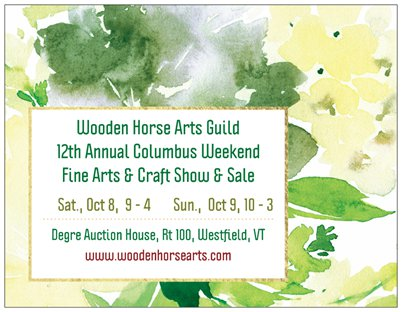 12th Annual Columbus Weekend Fine Arts & Crafts Show & Sale