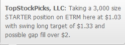 ETRM Buy