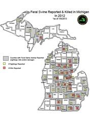 2012 Feral Swine Map 2