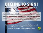 Decline to Sign sign 2