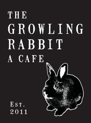 growling rabbit logo
