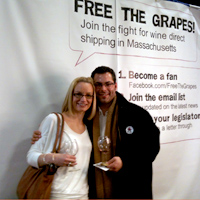 couple in boston Free The Grapes Update