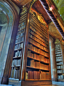 Austrian National Library, Photo by Flickr user joiseyshowaa CC BY-SA 2.0