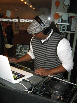 Jamie as DJ 2
