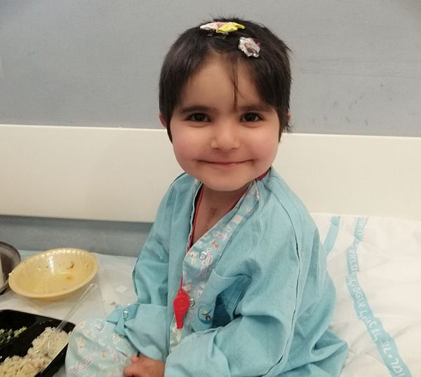 asmaa in hospital