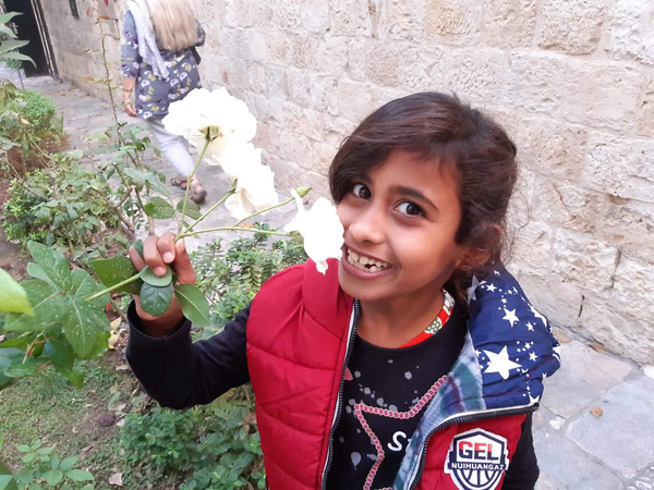 shahad with flower