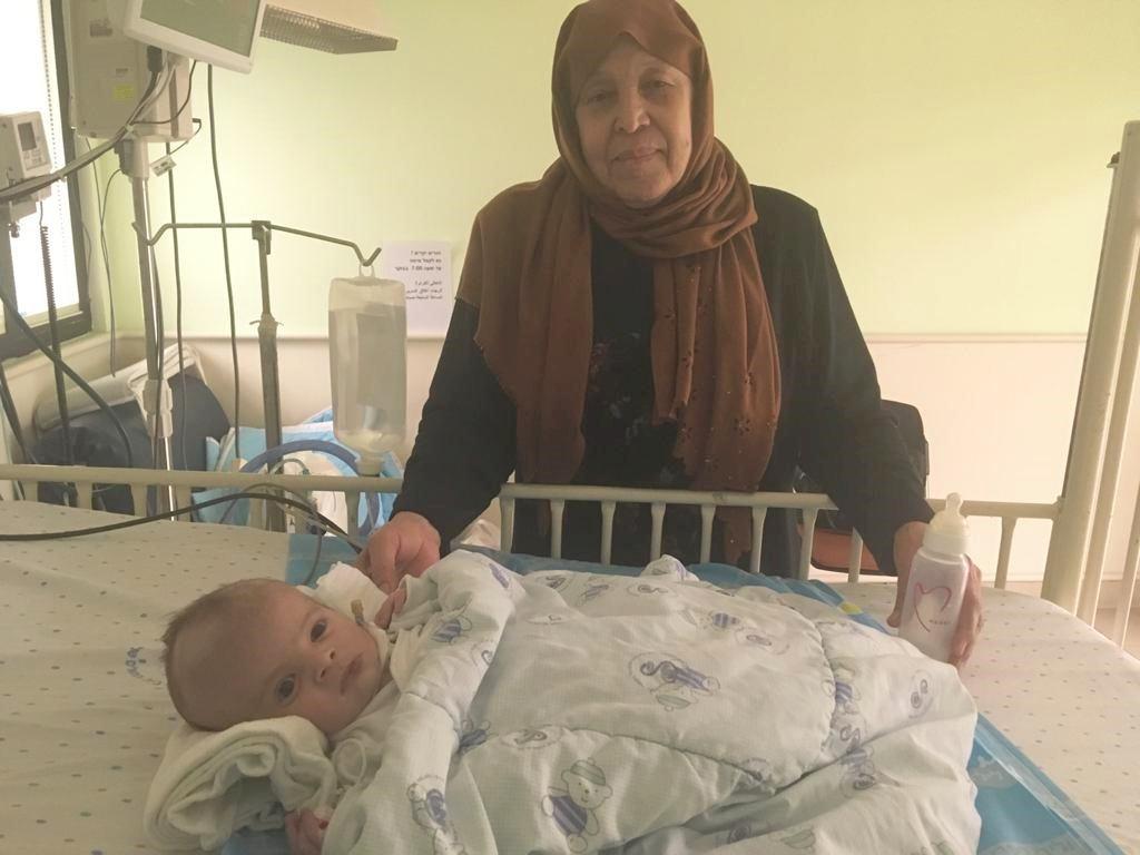 mahmoud and grandmother