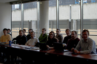 Members at the Bargaining Meeting