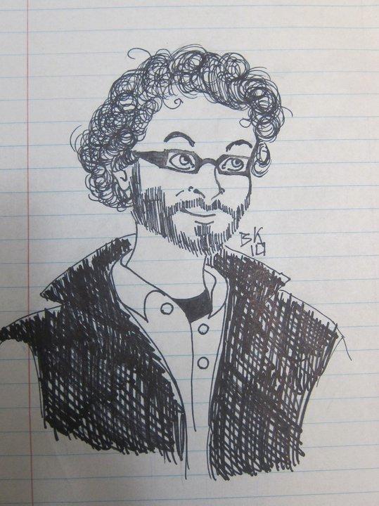Matthew Cross-drawing