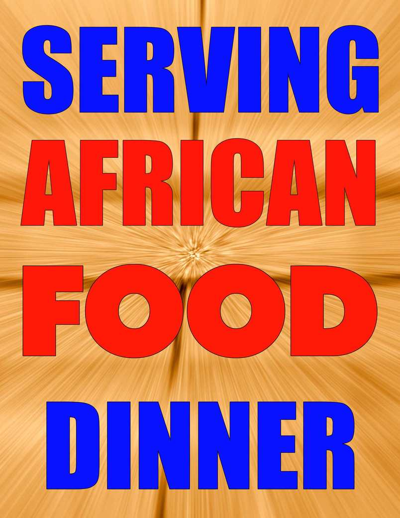 AFRICAN FOOD DINNER 3