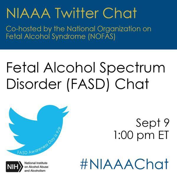twitter chat NIAAA