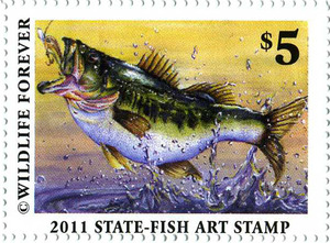 2011 Art of Conservation Stamp