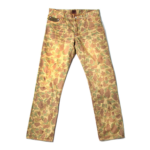 Strivers Row & Co. 5 Pocket Woven Camo Pant-2