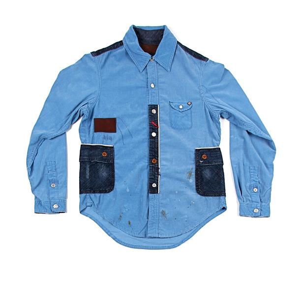 Strivers Row & Co. Woven Corduroy L_S Shirt 2