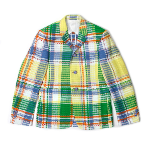 Thom Browne Madras Check Sport Coat