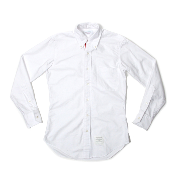 Thom Browne Oxford RWB Grosgrain Shirt-2