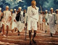 Gandhi march