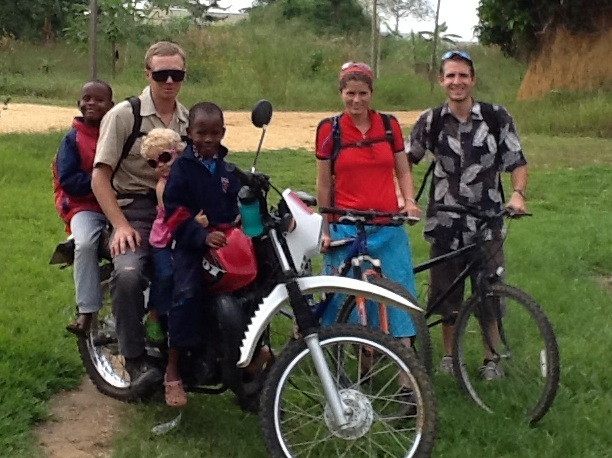 Congo team participates in trail ride