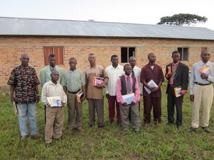 Eleven new converts from our church planter work. Now training for evangelism.