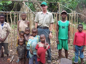 Elisha with Pygmy believers