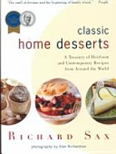 classic  home desserts