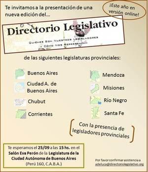 Directorios Legislativos provinciales 2