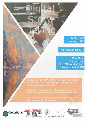 Digital Storytelling screening event 10 September 2018 2