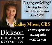Rodley Moser, Dickson Realty - eBlast ad 0510-1010