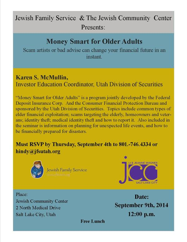Money Smart for Older Adults 3