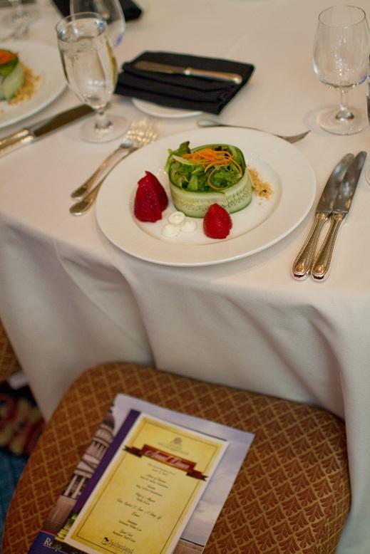 Sutherland dinner at Grand America