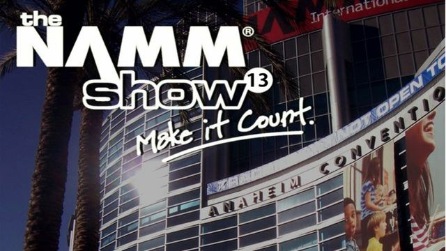 NAMM 2013 Front