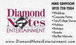 Diamond Notes Entertainment - Mike Grayson