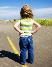 Girl on Road.JPG