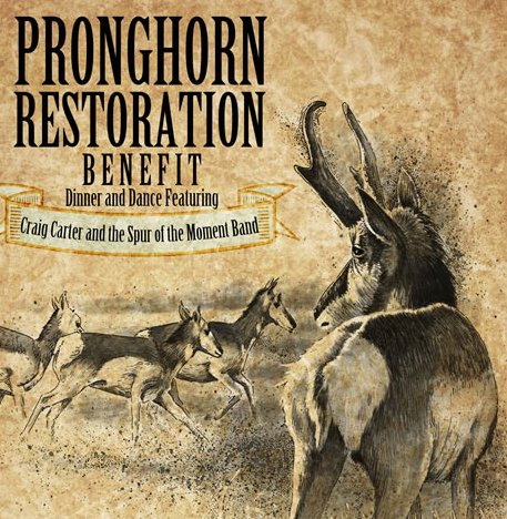 Pronghorn Restoration Benefit, Jan. 29