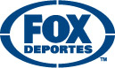 FOX Deportes - navy blue logo