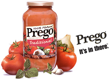 Image result for Prego, it's in there