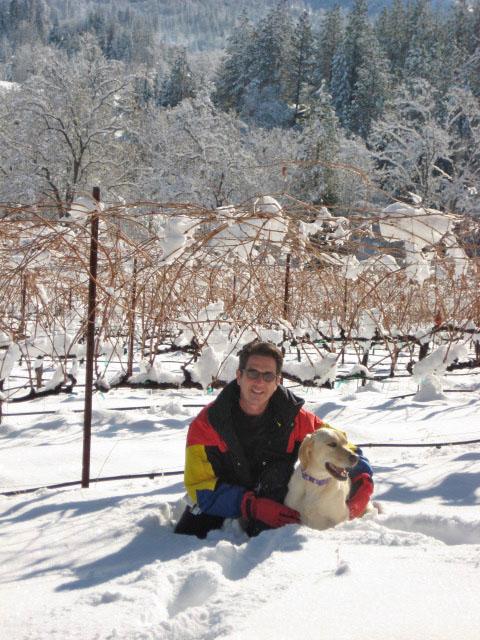 Winemaker Frank Hildebrand of Narrow Gate Vineyards