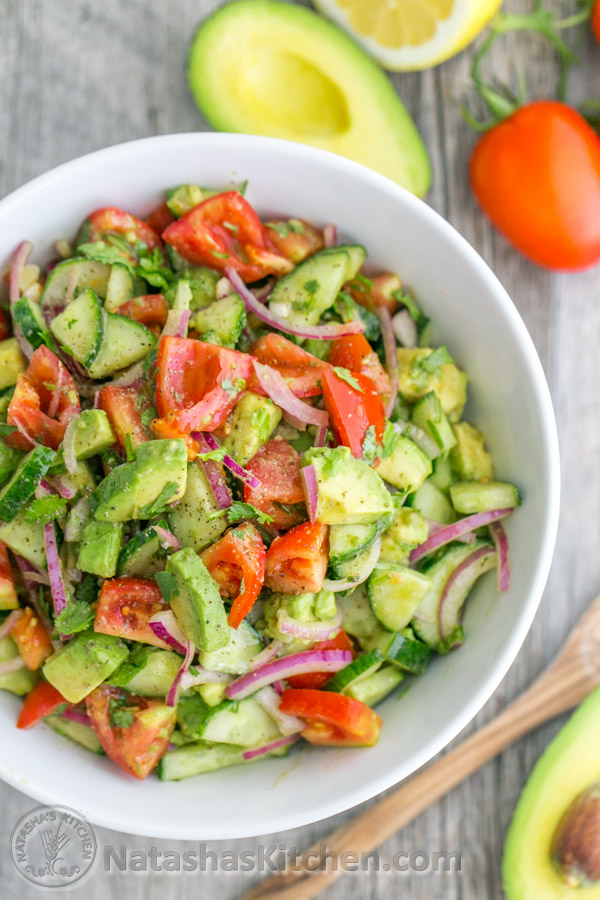 Cucumber-tomato-avocado-salad-