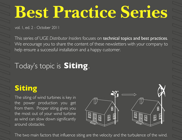 "Distributor Insider ""Best Practice Series"": Siting"