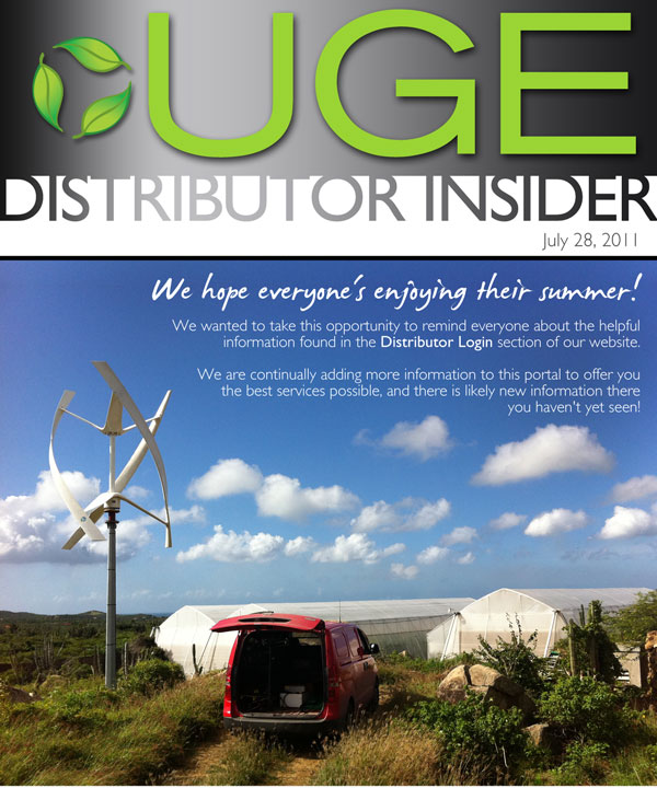 Distributor Insider: Happy Summer!