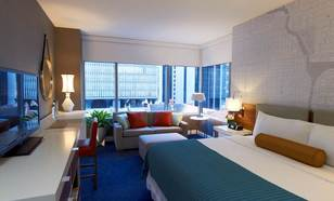 Kinzie Hotel Guest Room