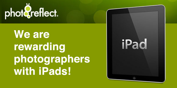We are rewarding photographers with iPads!