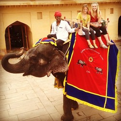 Hinckley Interns in India